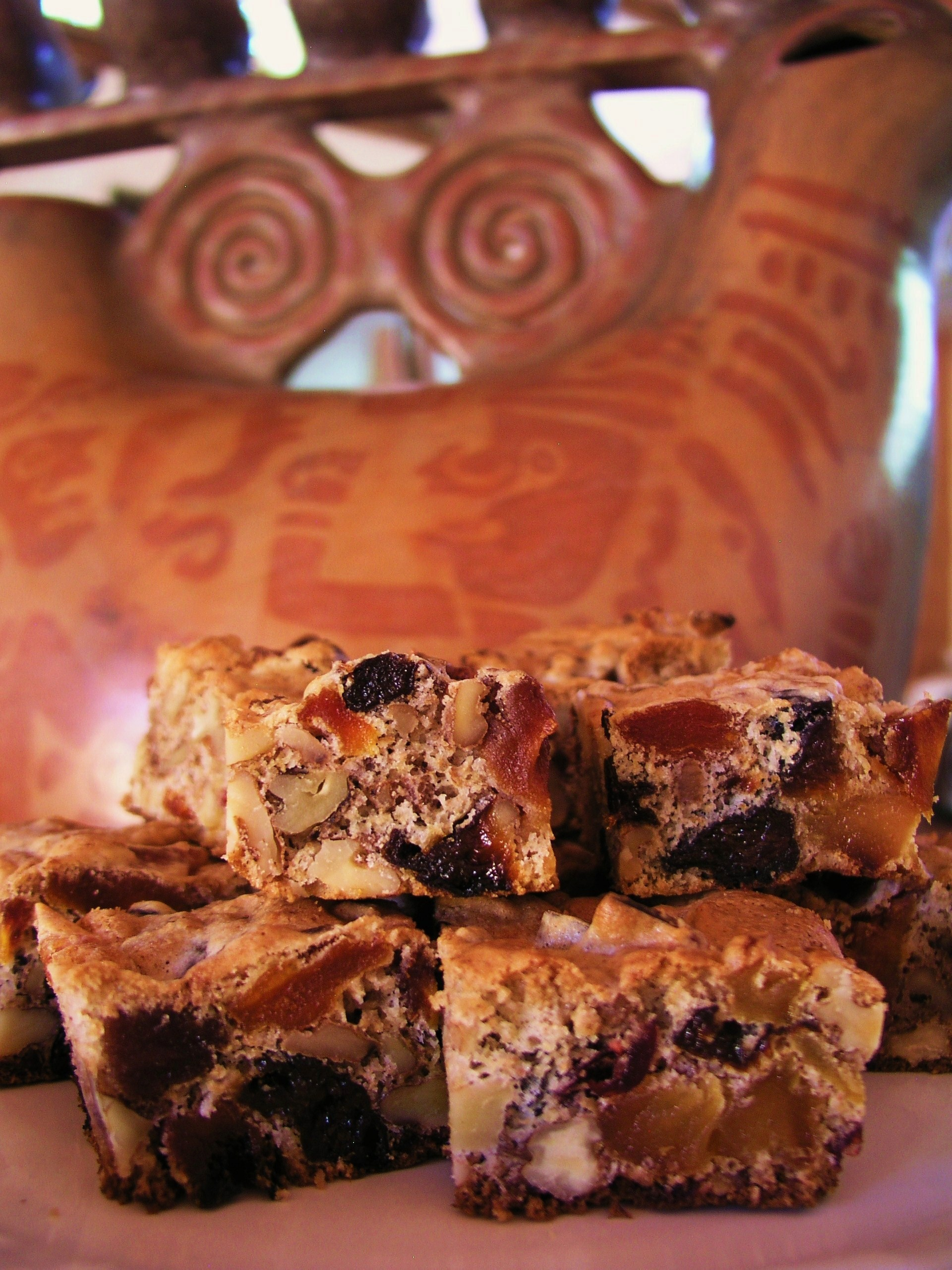 Holiday fruitcake bars inspired by David Lebovitz | Cooking in Mexico