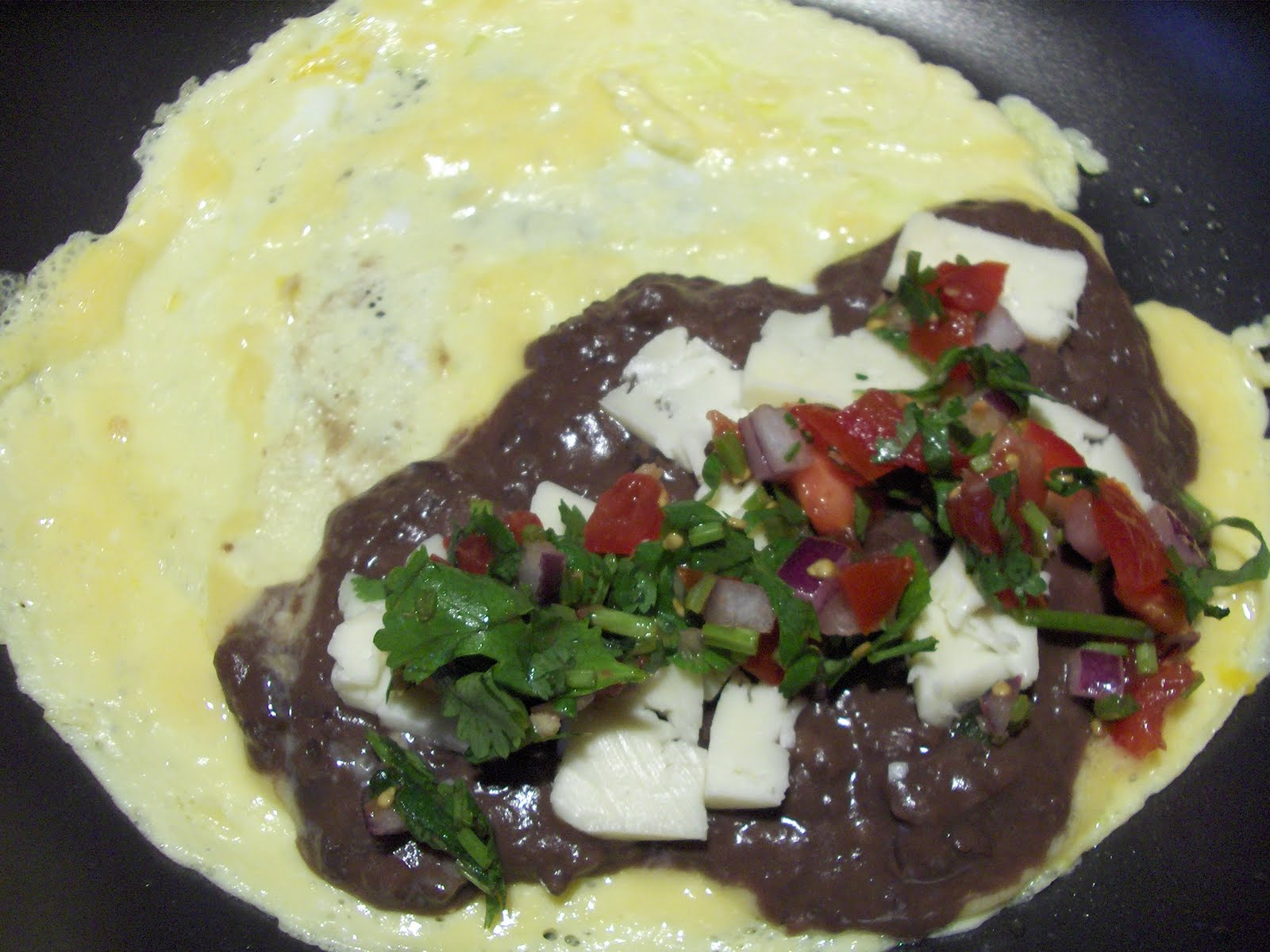 Mexican Omelet with Fresh Salsa – Cooking in Mexico