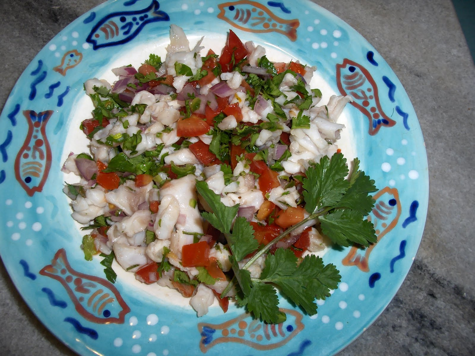 Ceviche cooking in mexico for Shrimp and fish ceviche