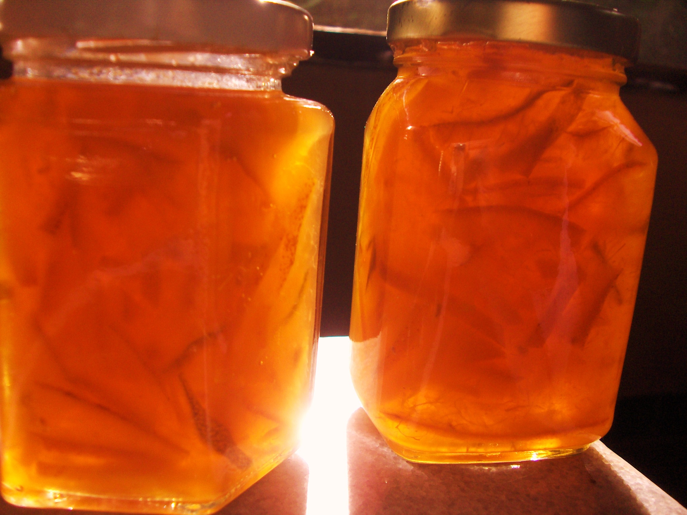 Recipe and photos for Mexican Orange Marmalade made with organic sour ...