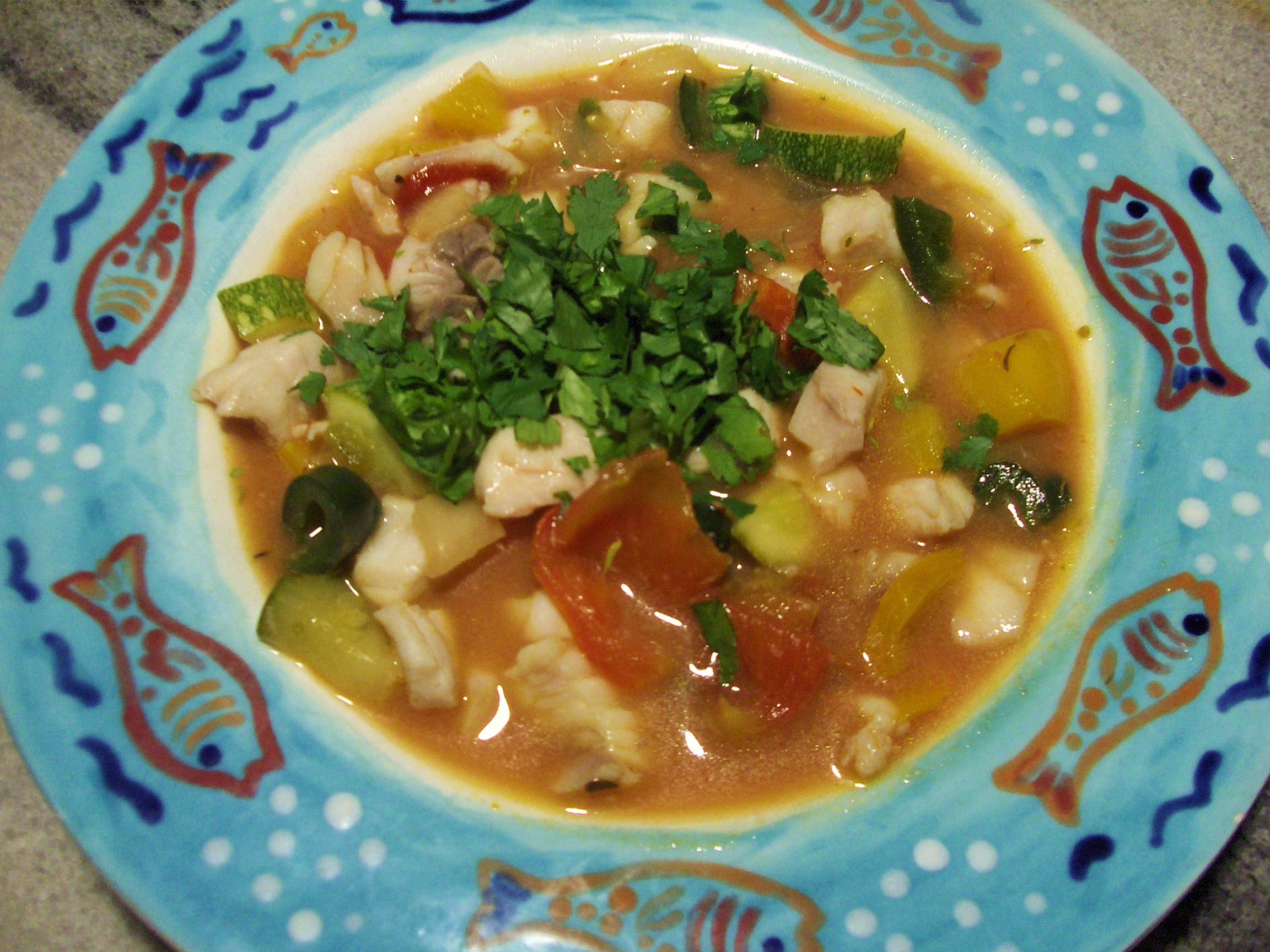 301 moved permanently for Spicy fish soup