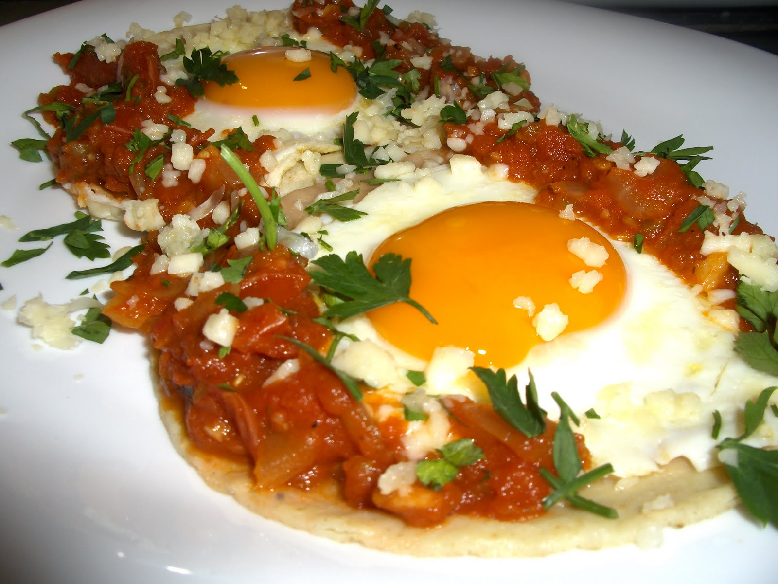 Huevos Rancheros     Mexico on your breakfast plateHuevos Mexicanos