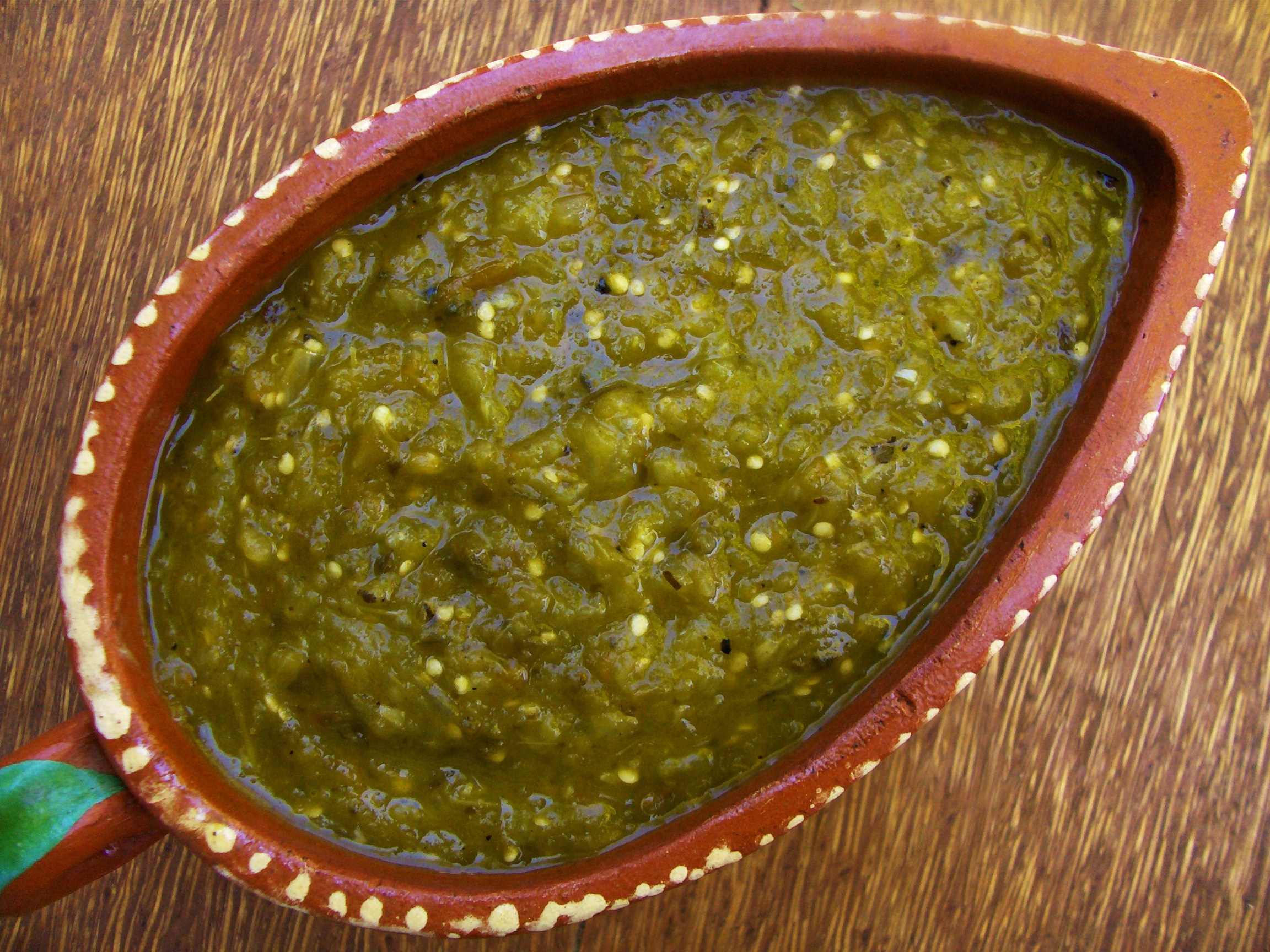 Salsa Verde — Green Chile Sauce | Cooking in Mexico