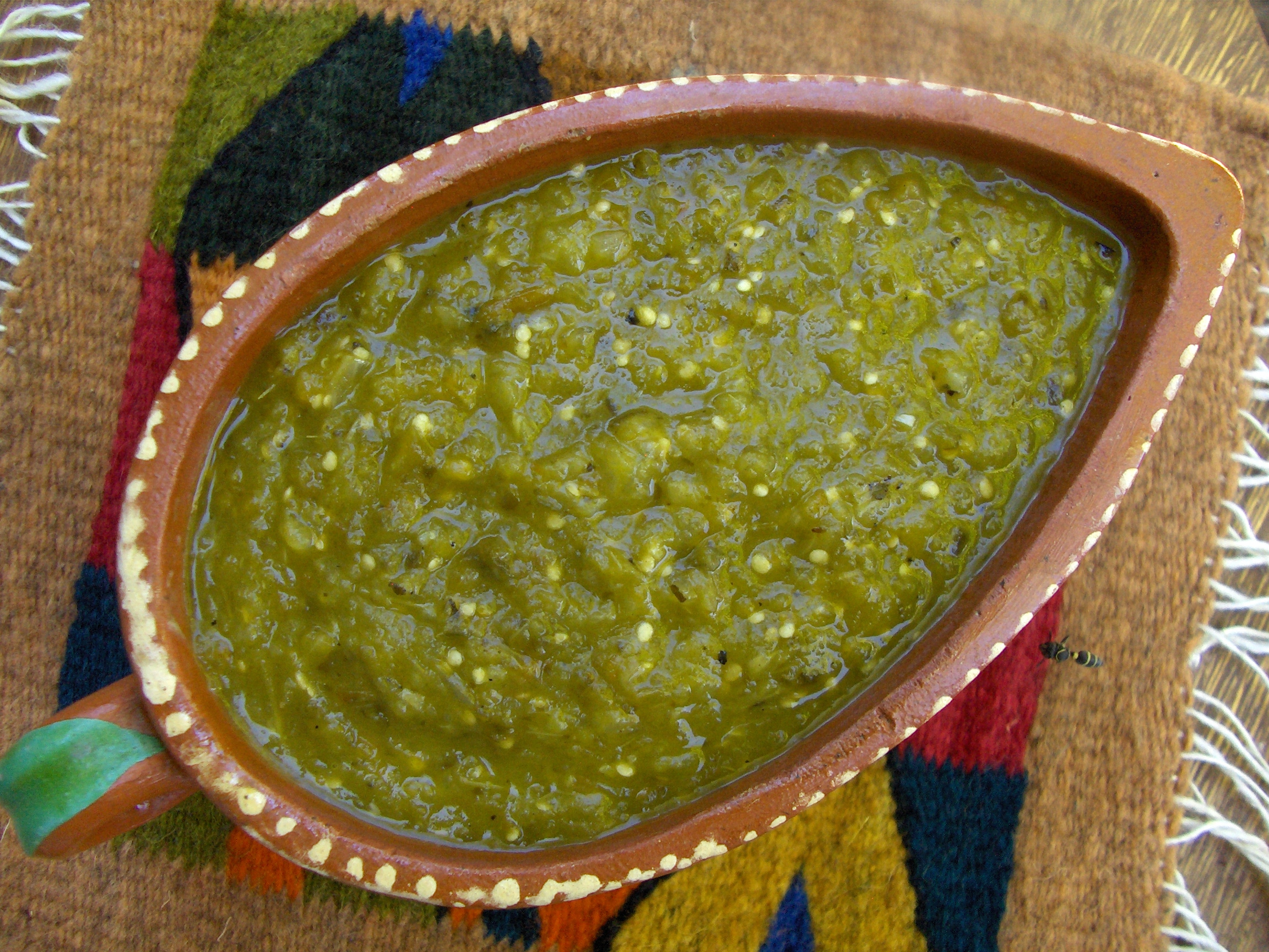 Salsa Verde — Green Chile Sauce – Cooking in Mexico