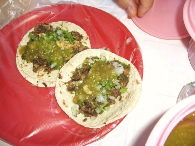 cow head tacos