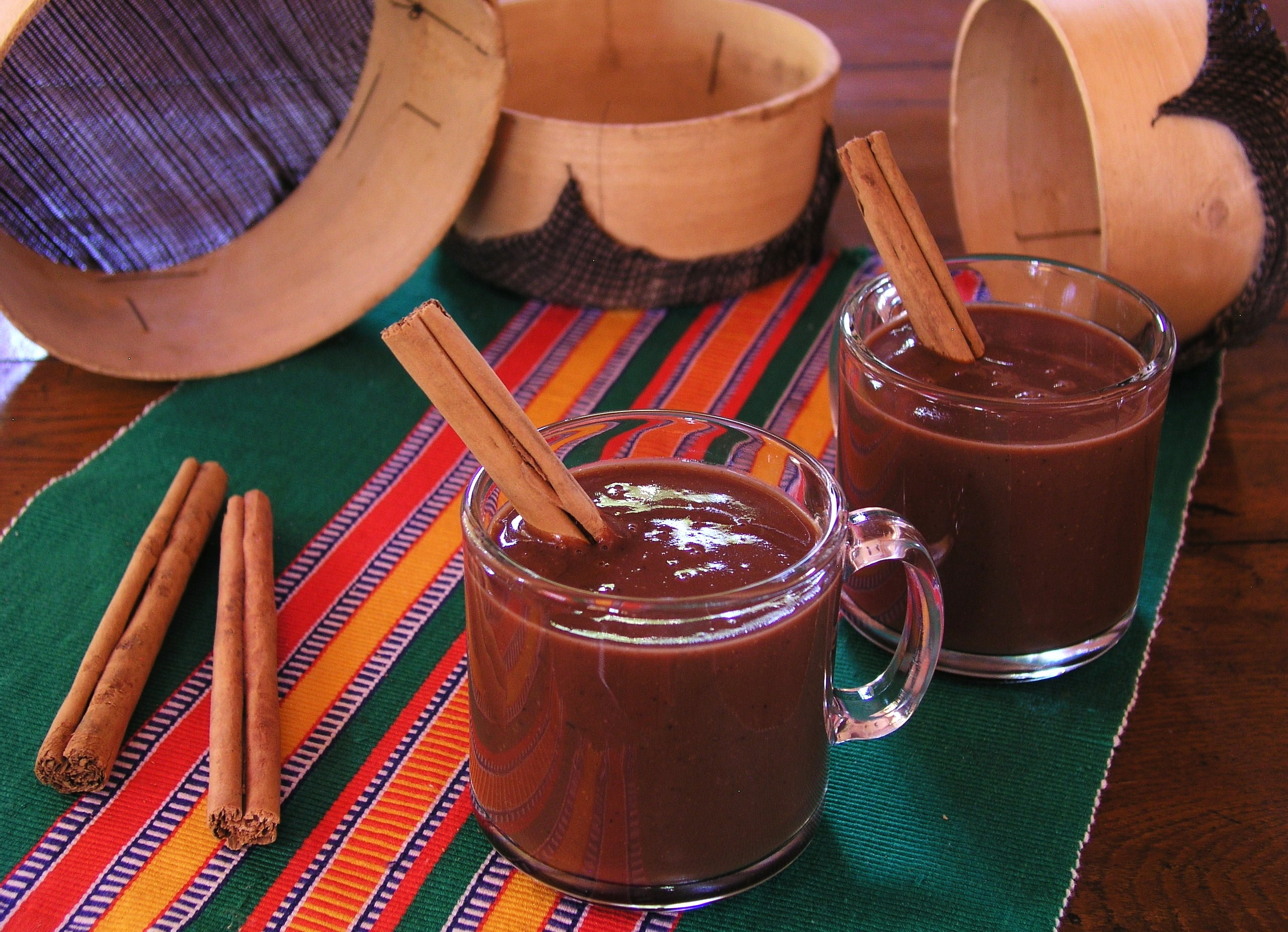 champurrado drink of the gods cooking in mexico
